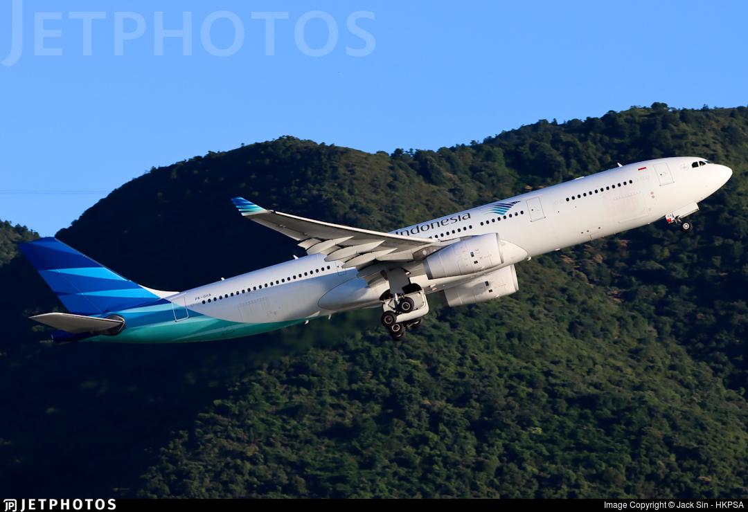 PK-GHA - Airbus A330-343 - Garuda Indonesia