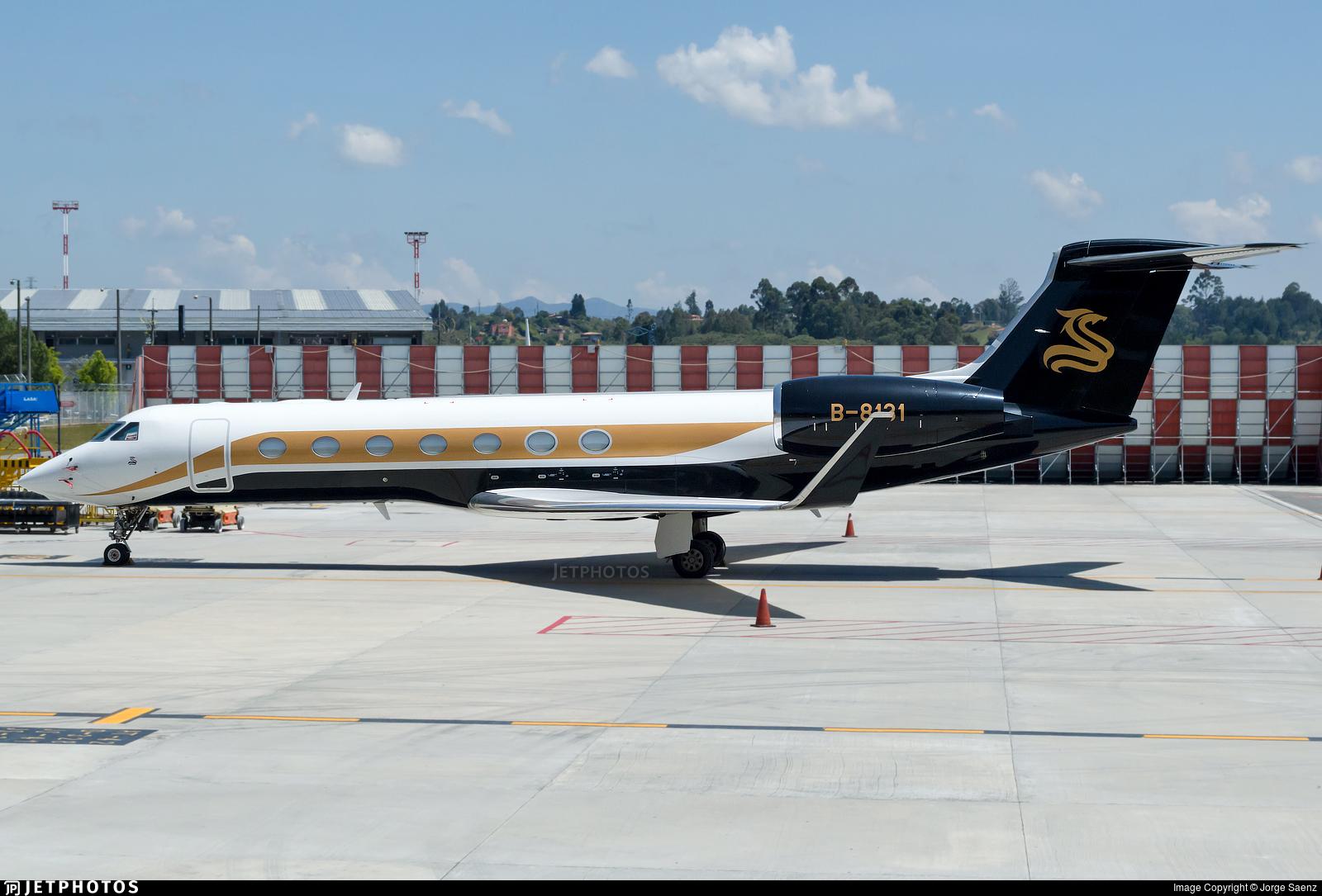 B-8131 - Gulfstream G550 - Private