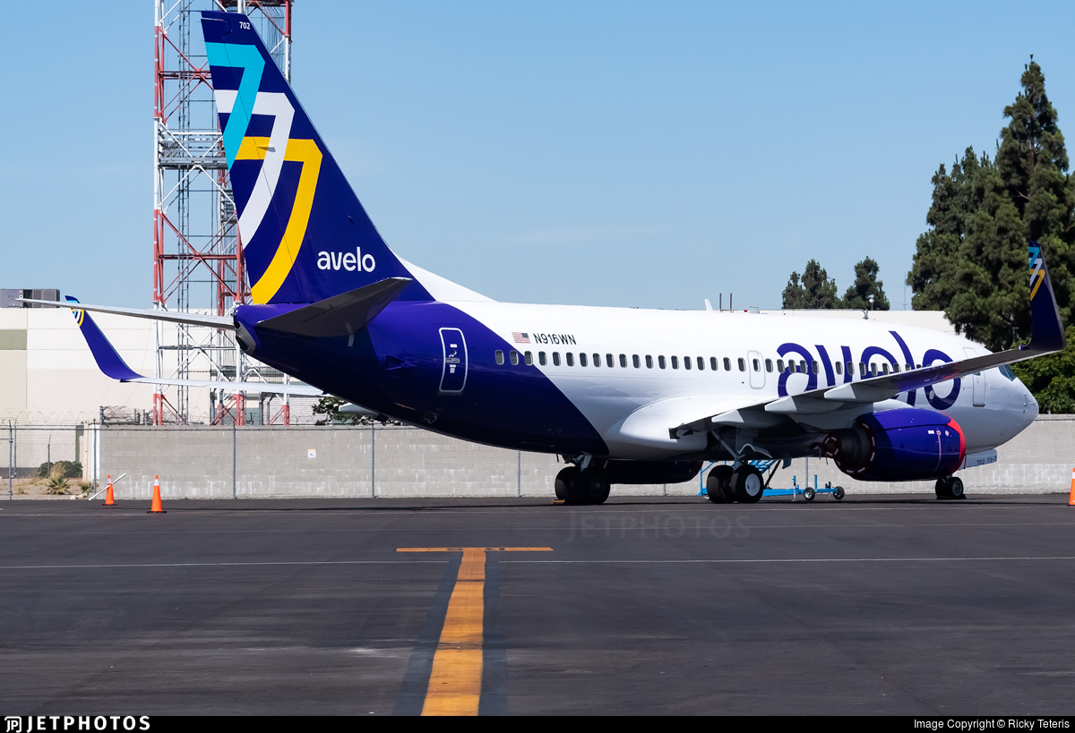 N916WN - Boeing 737-7H4 - Avelo Airlines