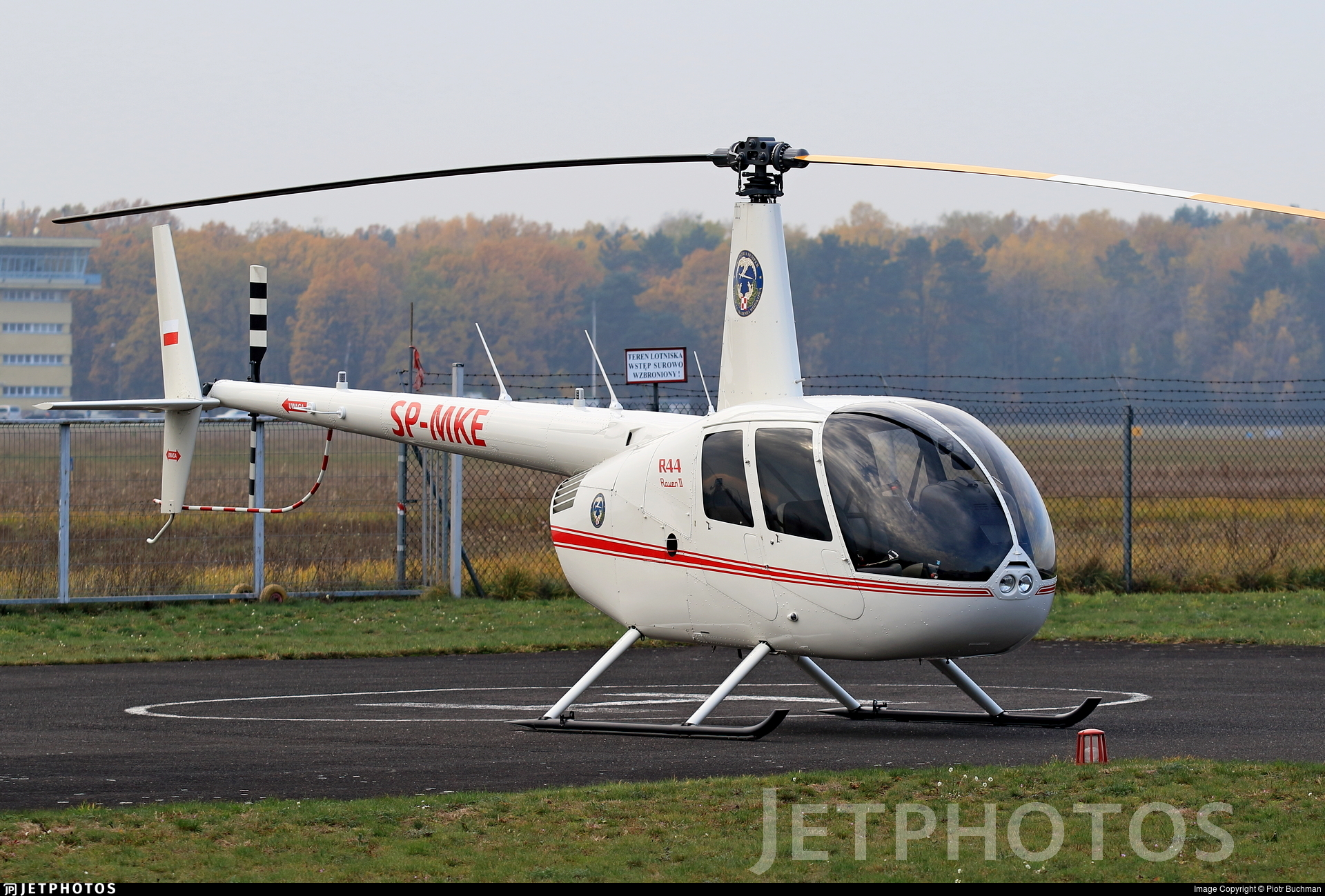 SP-MKE - Robinson R44 Raven II - Aero Club - Orlat Deblin