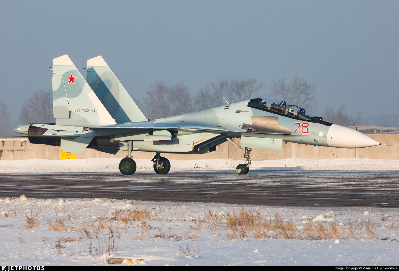 RF-81738 - Sukhoi Su-30SM - Russia - Air Force