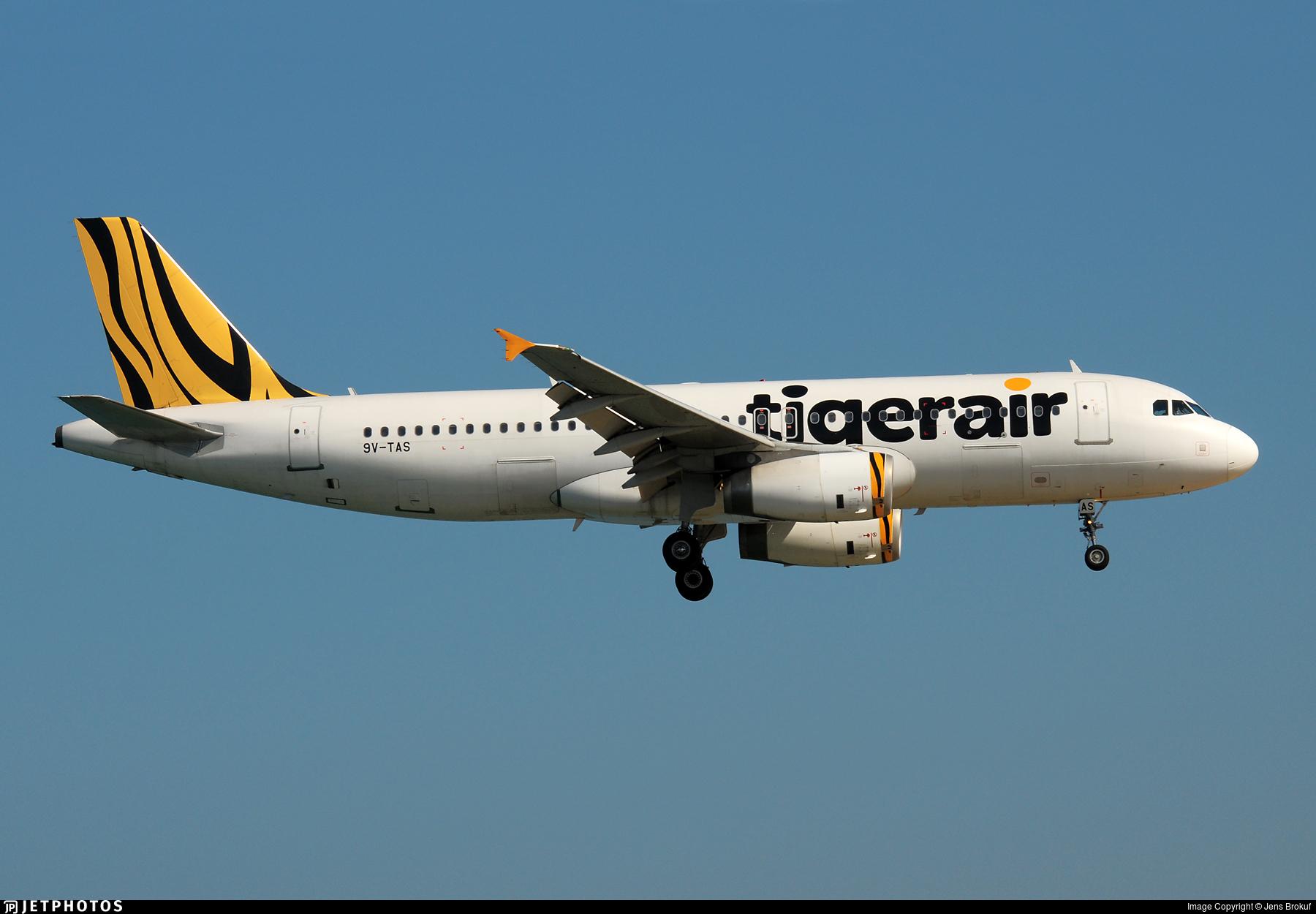 9V-TAS - Airbus A320-232 - Tigerair