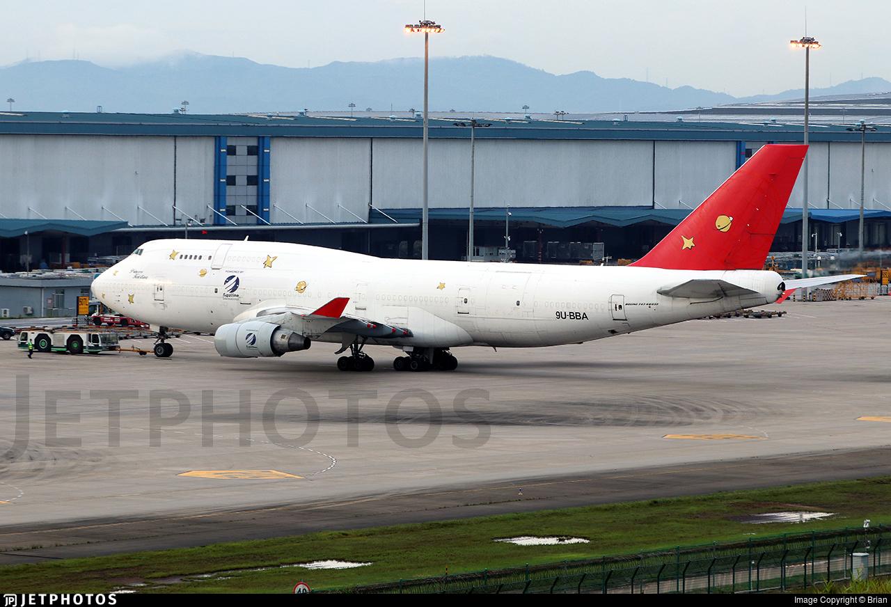 9U-BBA - Boeing 747-409(BDSF) - Sky One