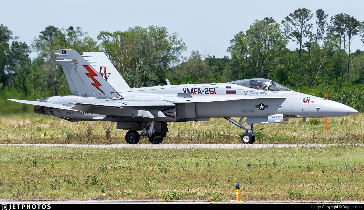 164212 - McDonnell Douglas F/A-18C Hornet - United States - US Marine Corps (USMC)