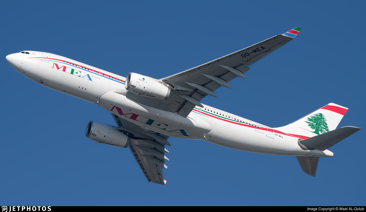 OD-MEA - Airbus A330-243 - Middle East Airlines (MEA)