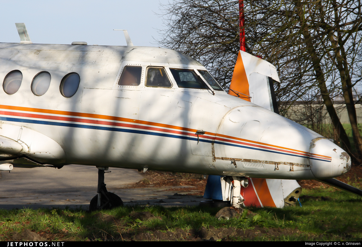 OO-IBL - Handley Page Jetstream HP 137 - Private