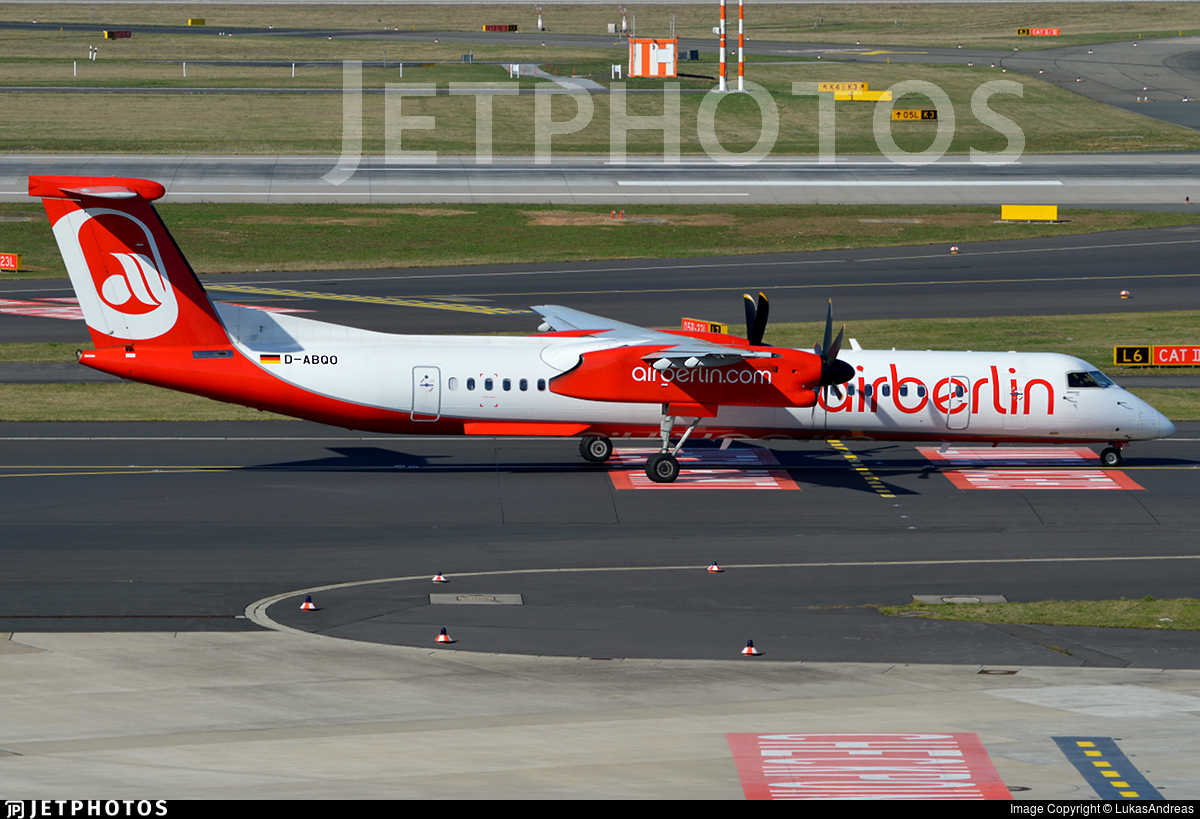 D-ABQO - Bombardier Dash 8-Q402 - Air Berlin (LGW Luftfahrtgesellschaft Walter)