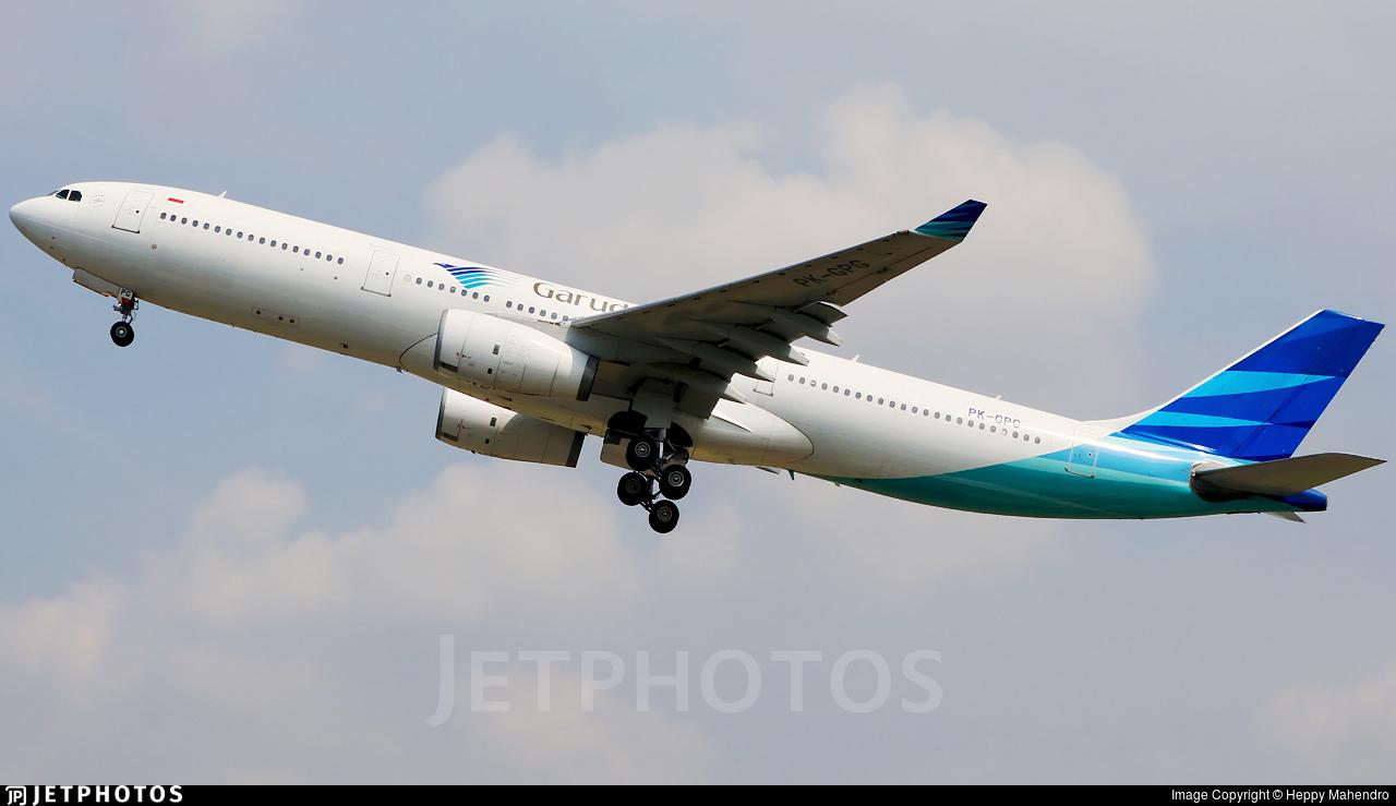 PK-GPG - Airbus A330-341 - Garuda Indonesia