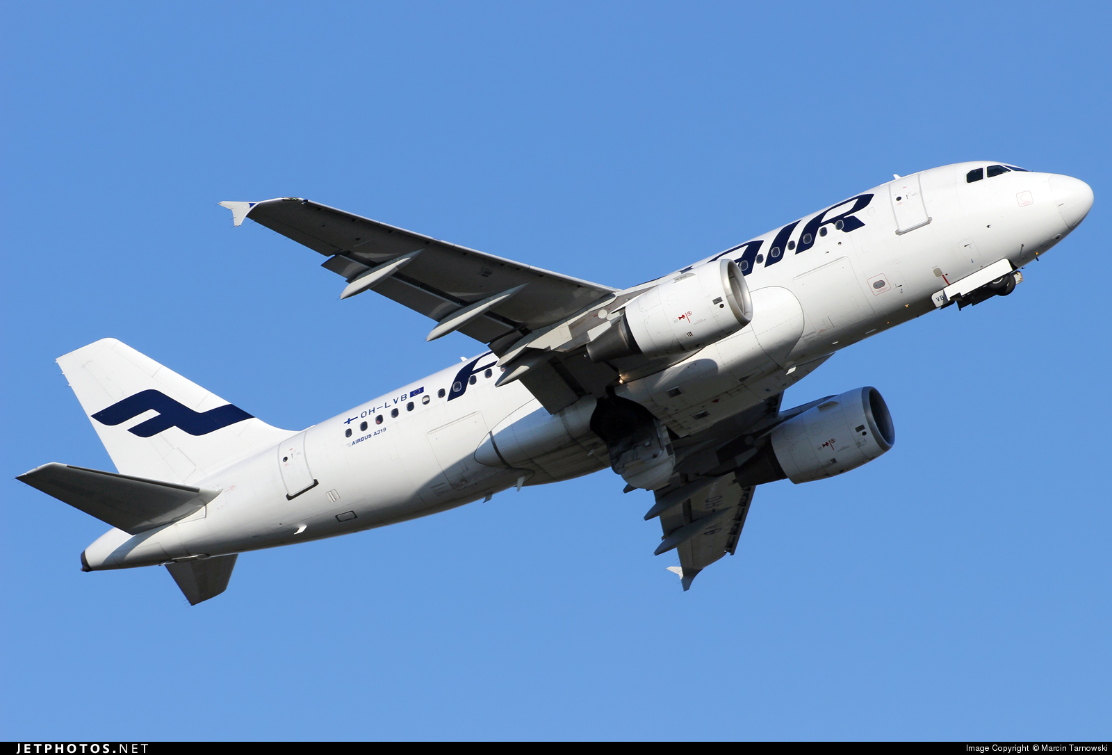 OH-LVB - Airbus A319-112 - Finnair