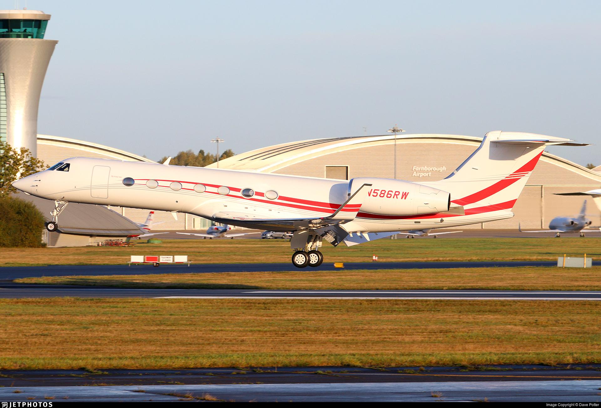 N586RW - Gulfstream G550 - Private