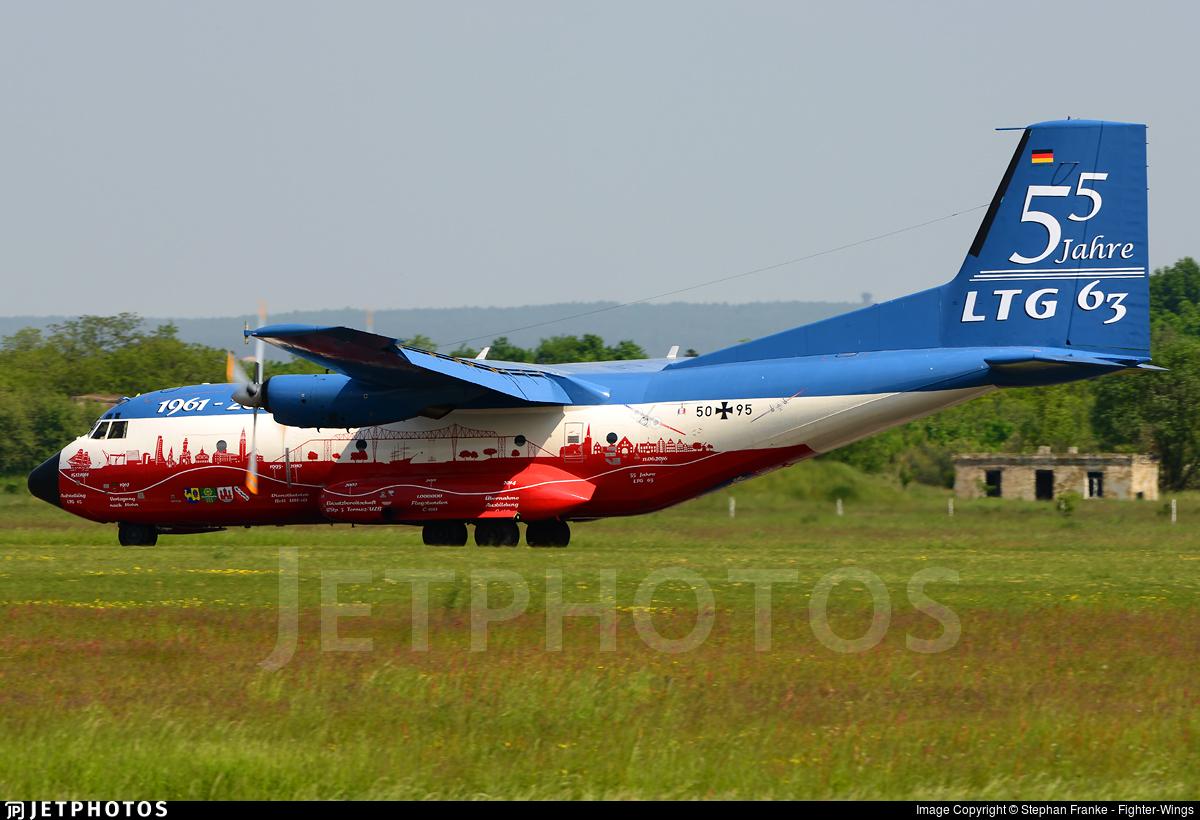 50-95 - Transall C-160D - Germany - Air Force