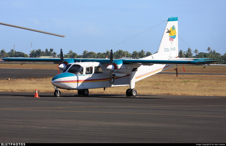 DQ-YIR - Britten-Norman BN-2A-8 Islander - Pacific Island Air