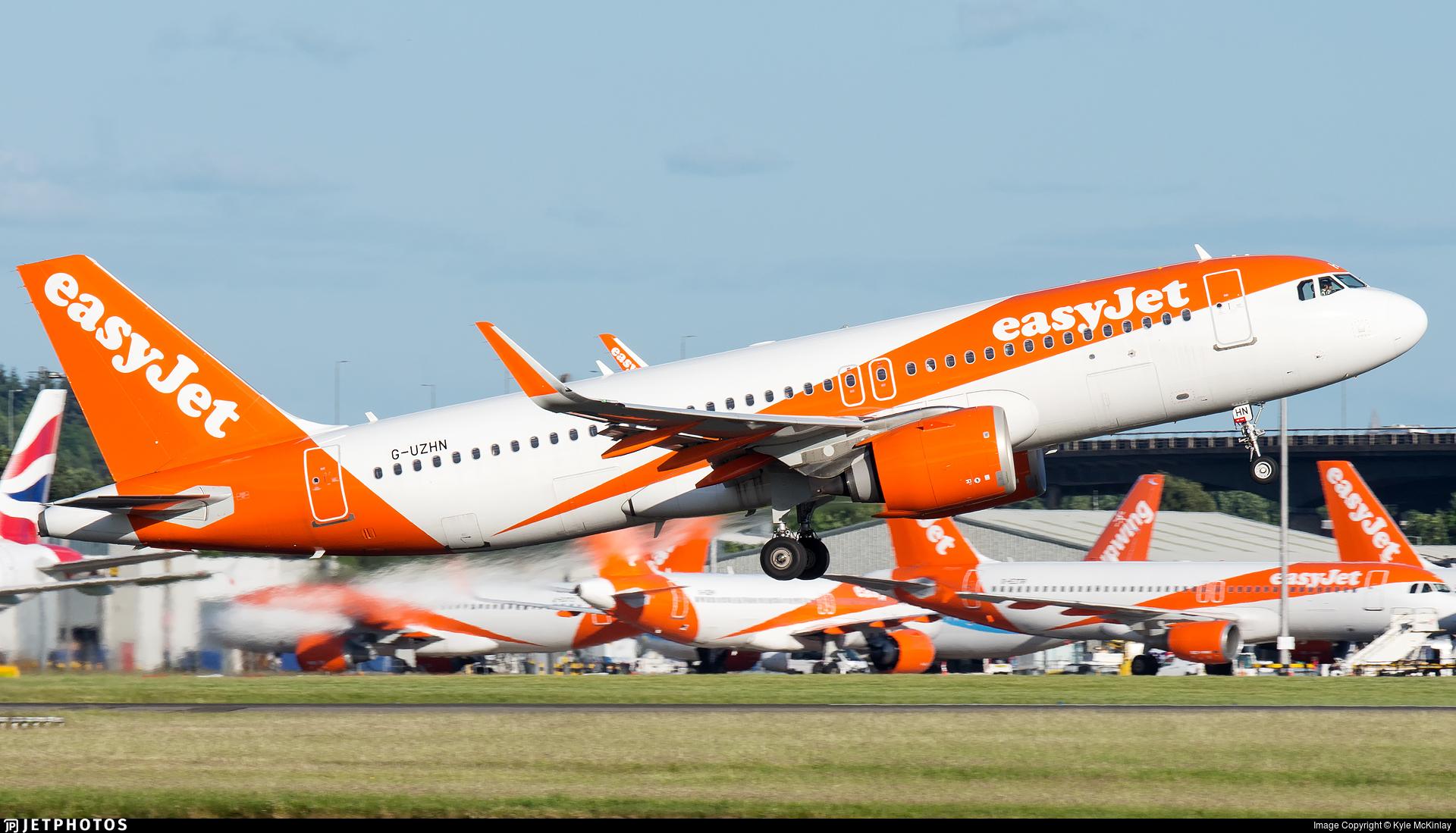 G-UZHN - Airbus A320-251N - easyJet