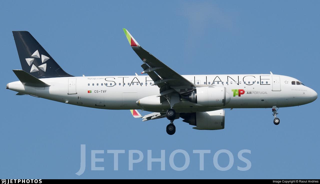 CS-TVF - Airbus A320-251N - TAP Air Portugal