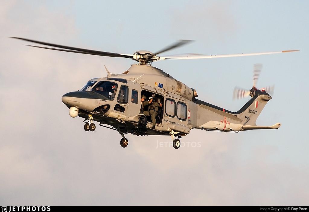 AS1630 - Agusta-Westland AW-139 - Malta - Armed Forces