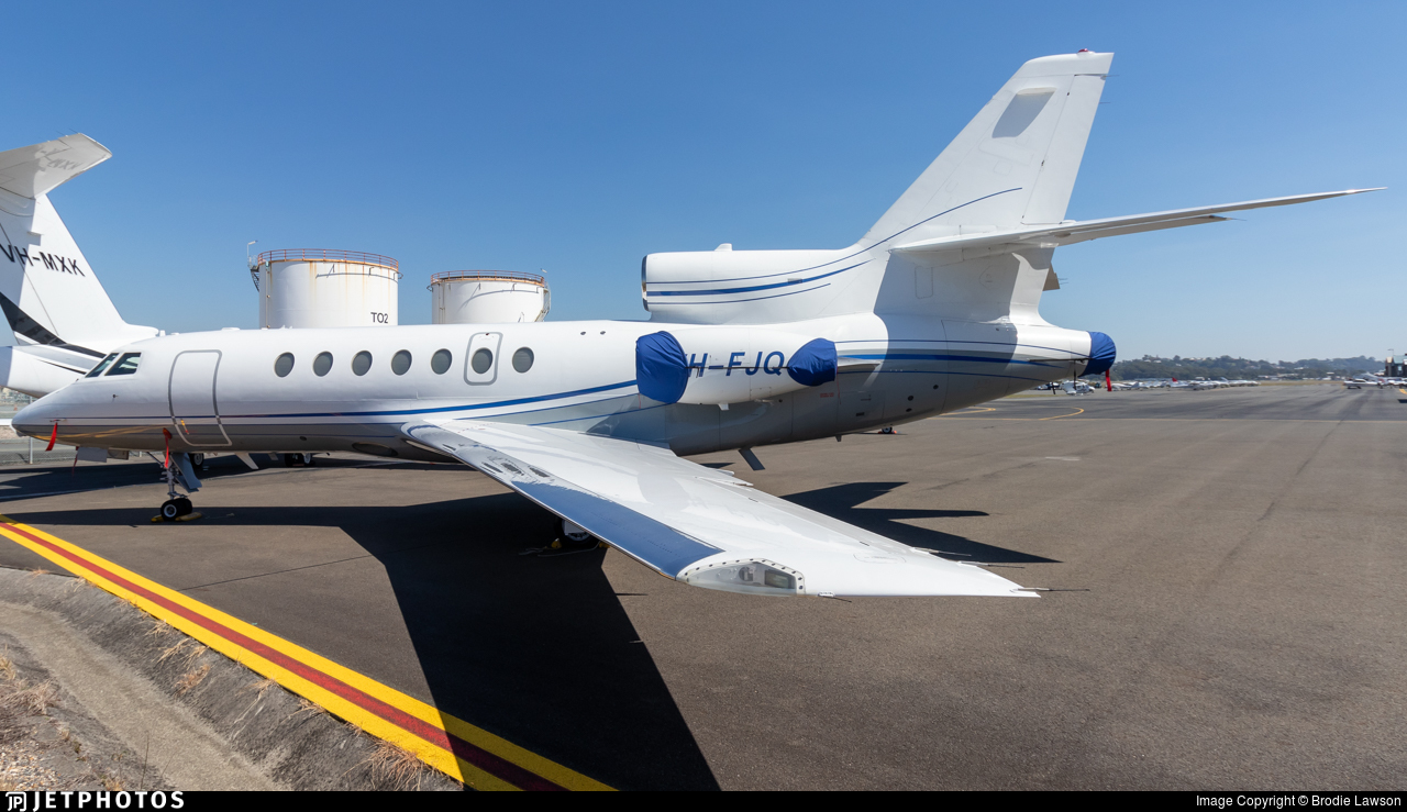 VH-FJQ - Dassault Falcon 50 - Private