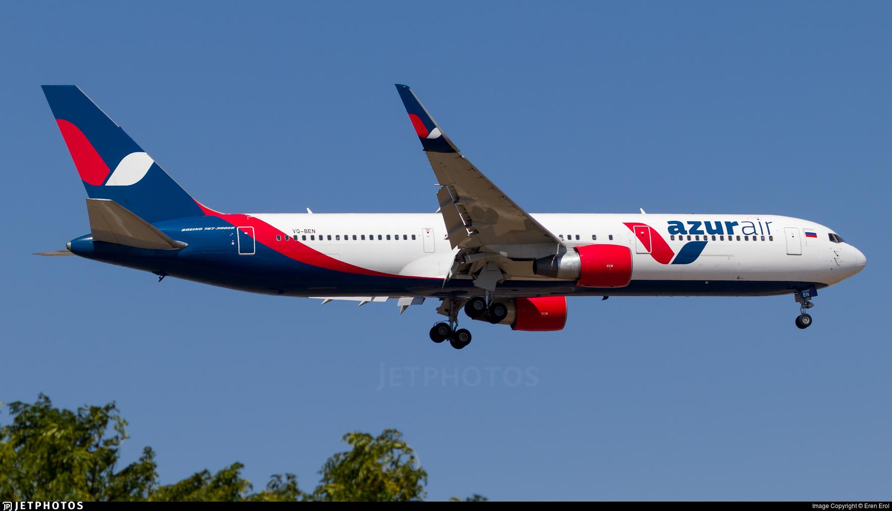 VQ-BEN - Boeing 767-33A(ER) - Azur Air
