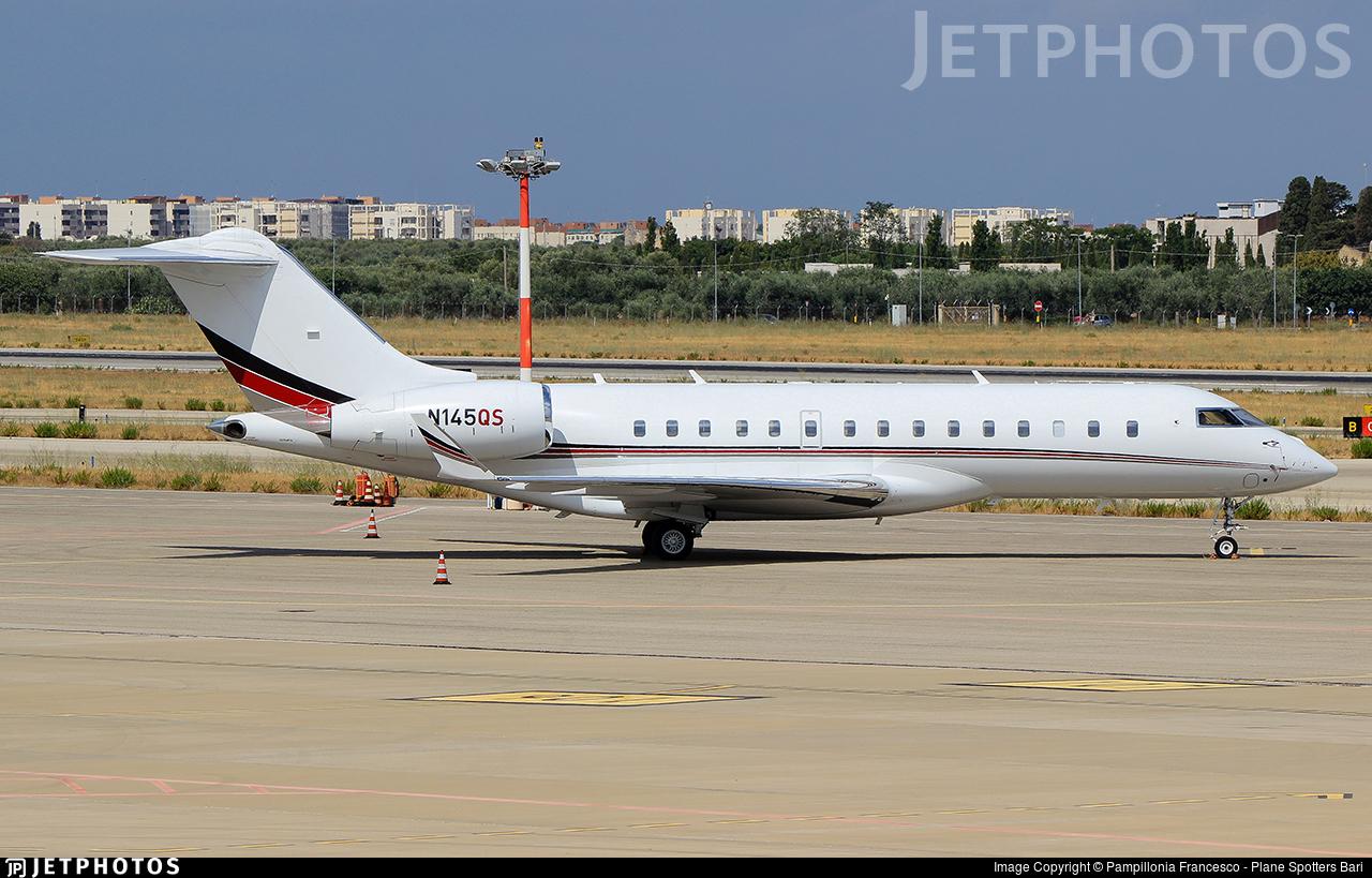 N145QS - Bombardier BD-700-1A10 Global 6000 - NetJets Aviation