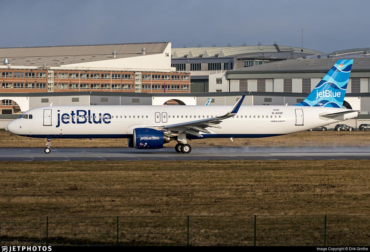 D-AVXF - Airbus A321-271NX - jetBlue Airways