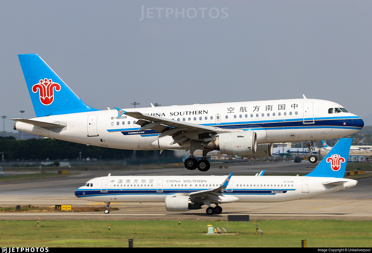 B-6209 - Airbus A319-115 - China Southern Airlines