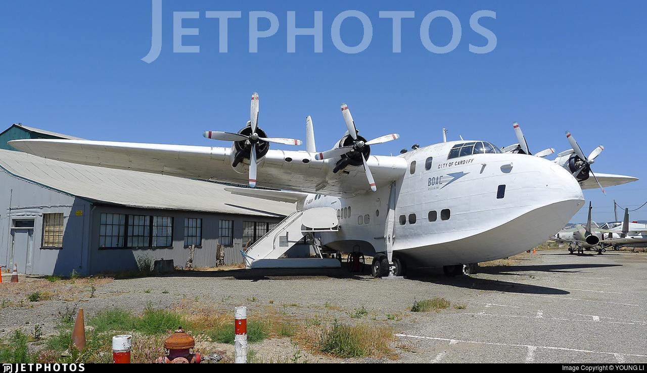 G-AKNP - Short S-45 Solent 3 - British Overseas Airways Corporation (BOAC)