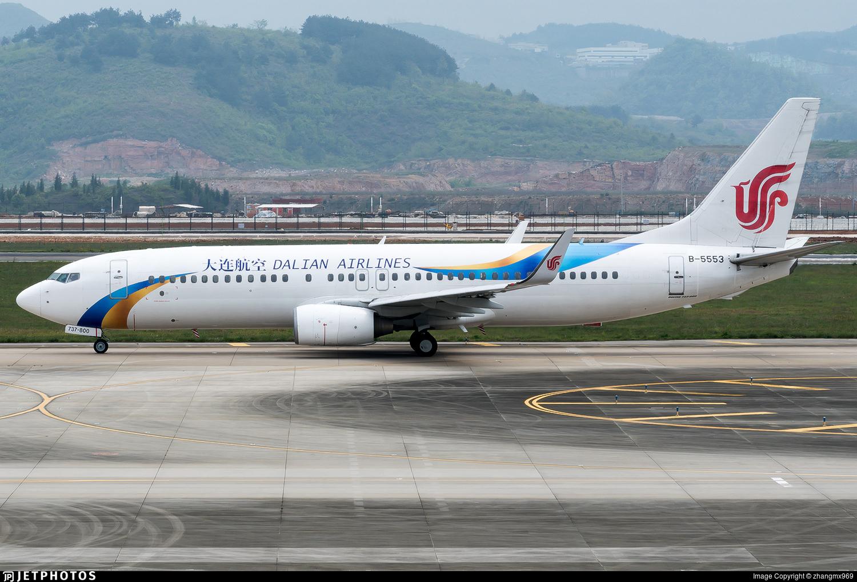 B-5553 - Boeing 737-89L - Dalian Airlines