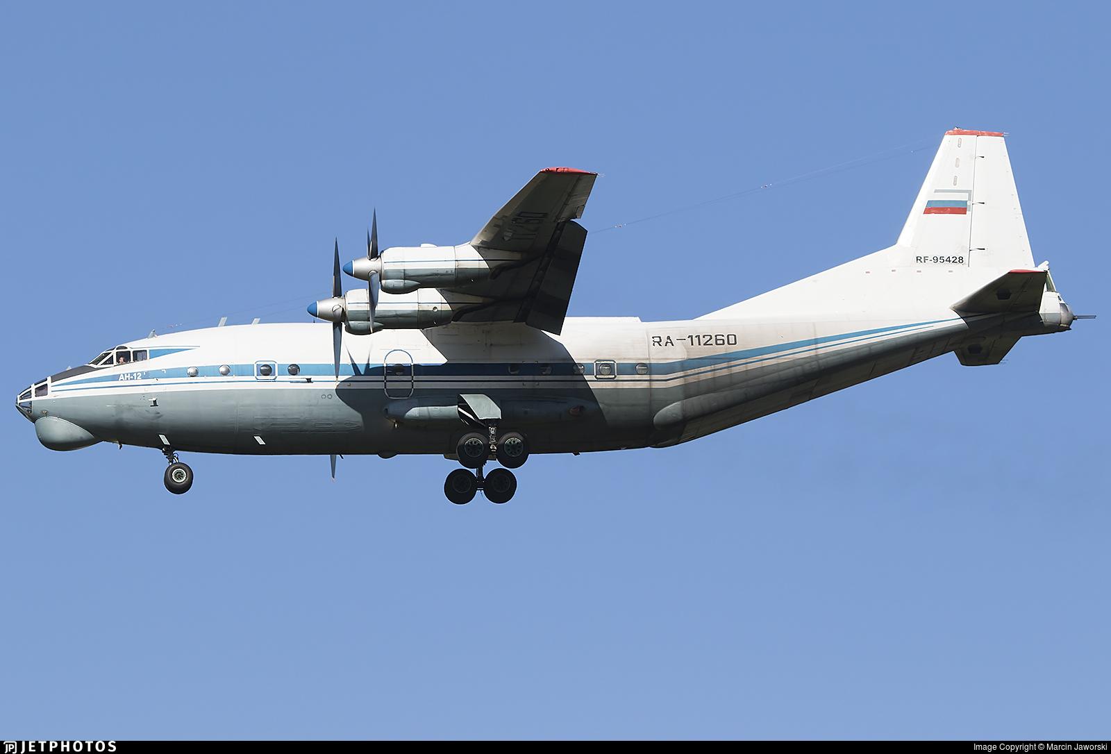 RF-95428 - Antonov An-12BK - Russia - Air Force