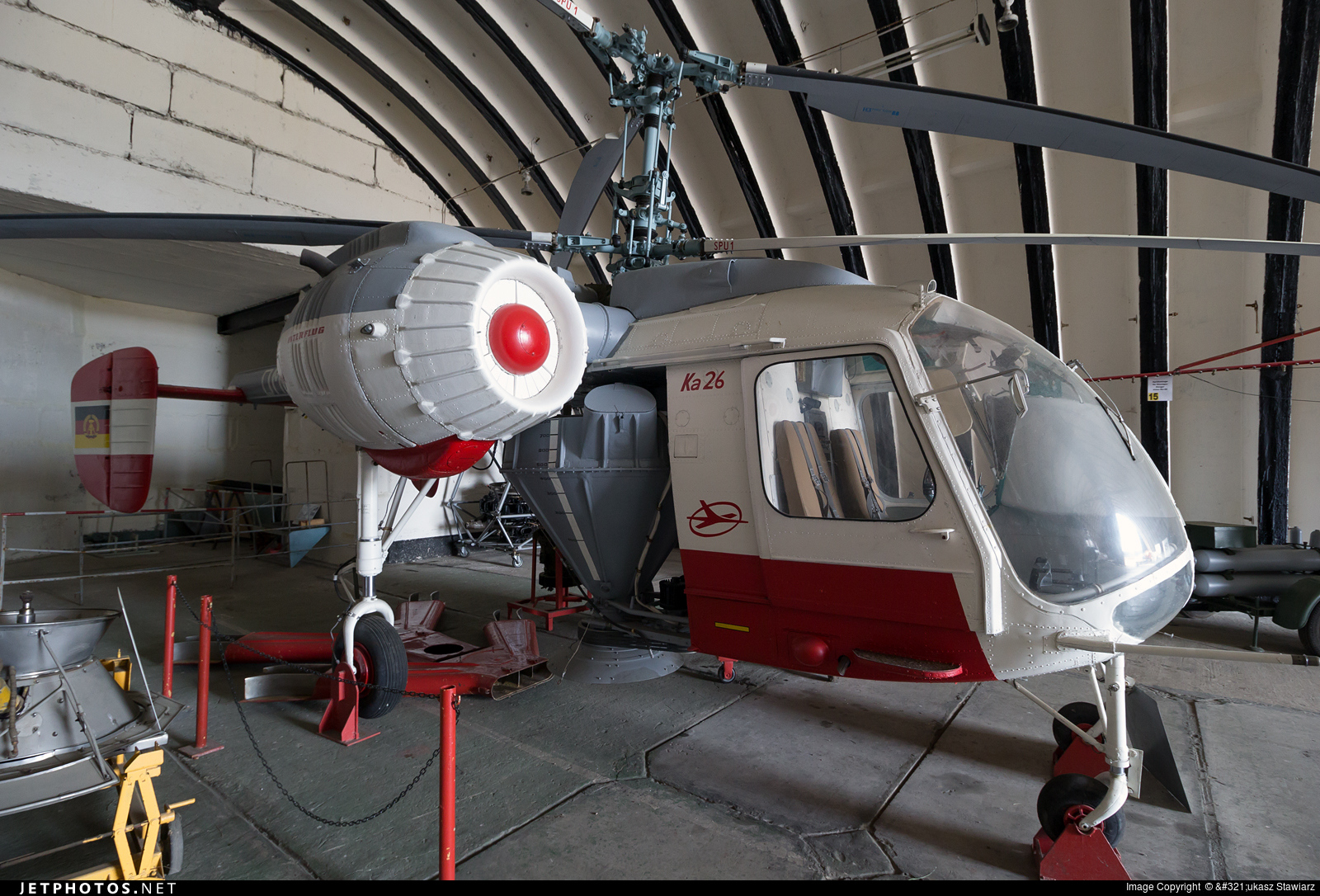 DM-SPU - Kamov Ka-26 Hoodlum - Interflug