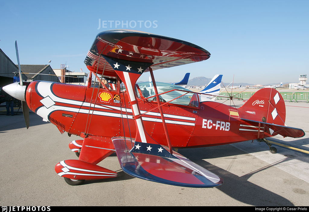 EC-FRB - Pitts S-2B Special - Aero Club - Barcelona-Sabadell