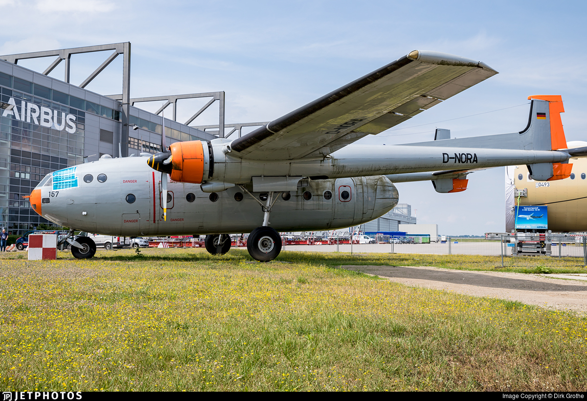 D-NORA - Nord 2501 Noratlas - Private