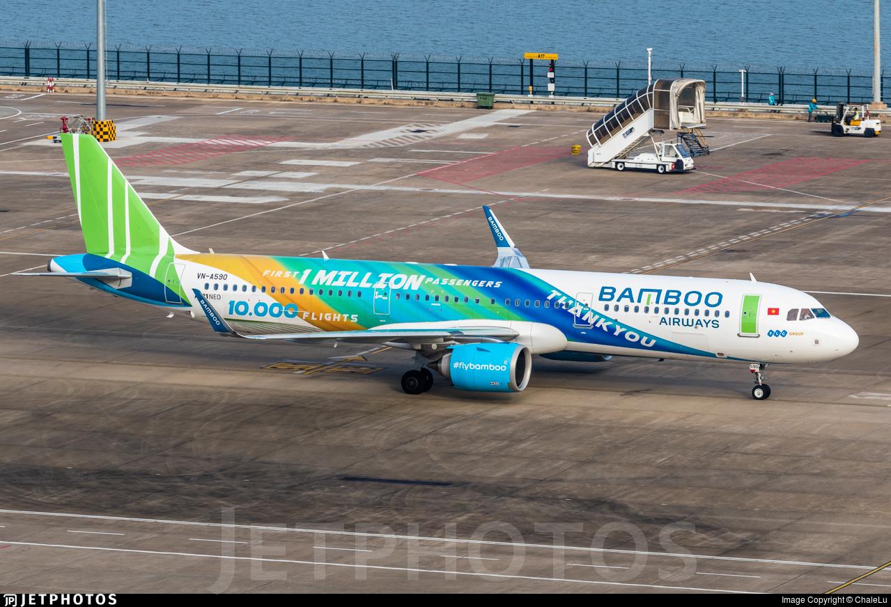 VN-A590 - Airbus A321-251N - Bamboo Airways