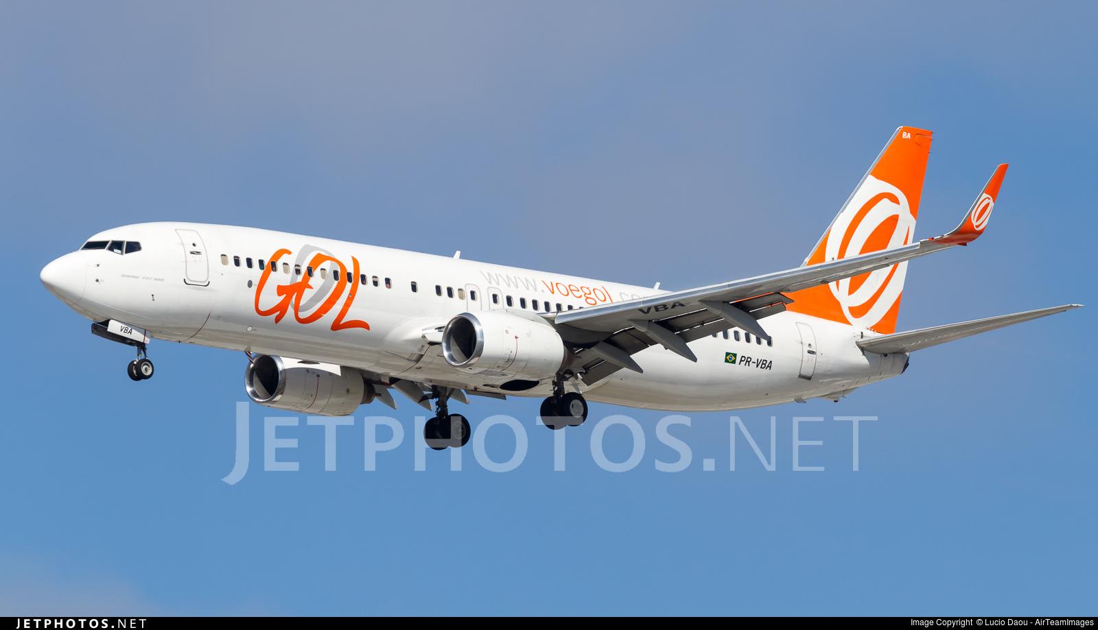 PR-VBA - Boeing 737-8AS - GOL Linhas Aereas