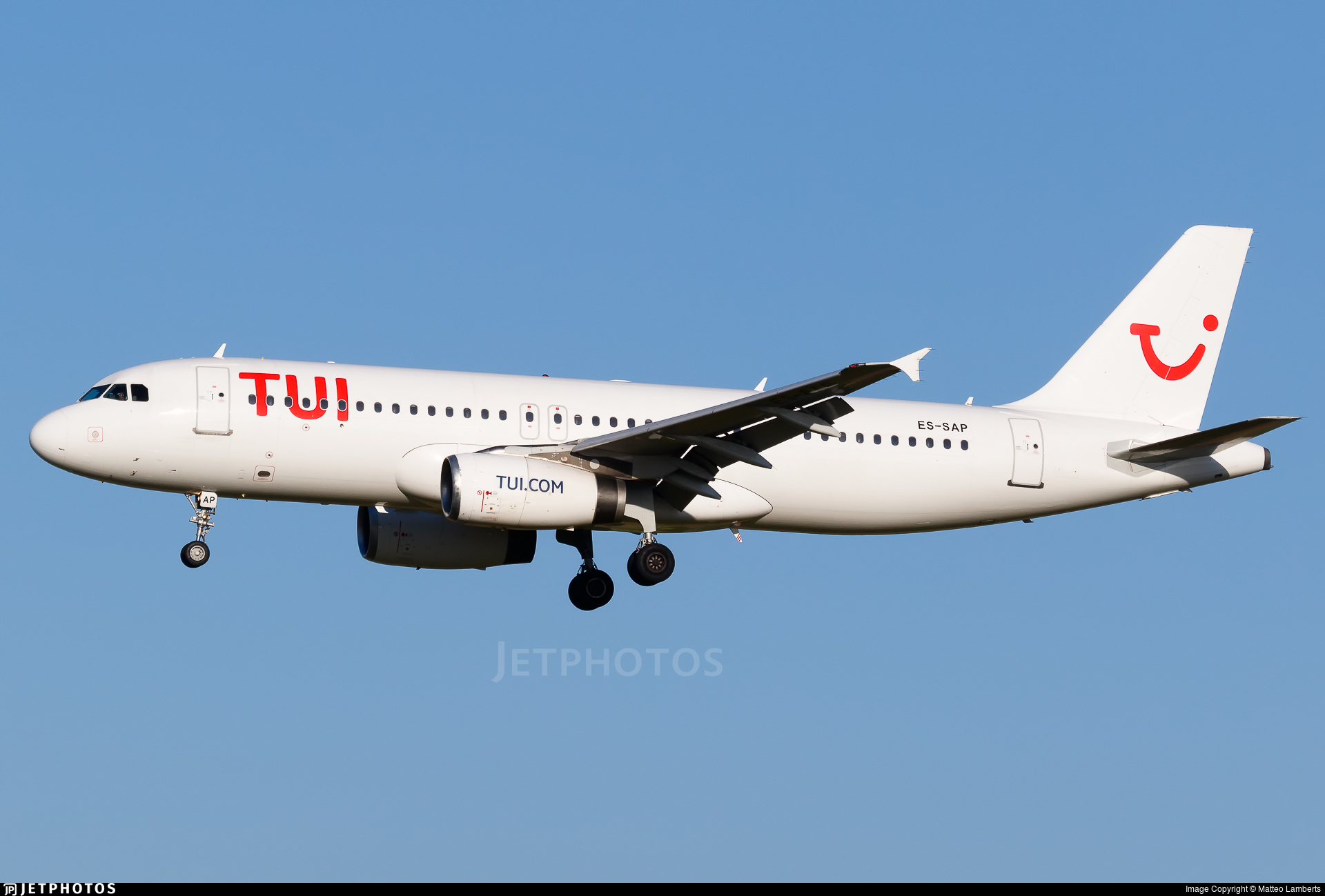 ES-SAP - Airbus A320-232 - TUI (Smartlynx Estonia)