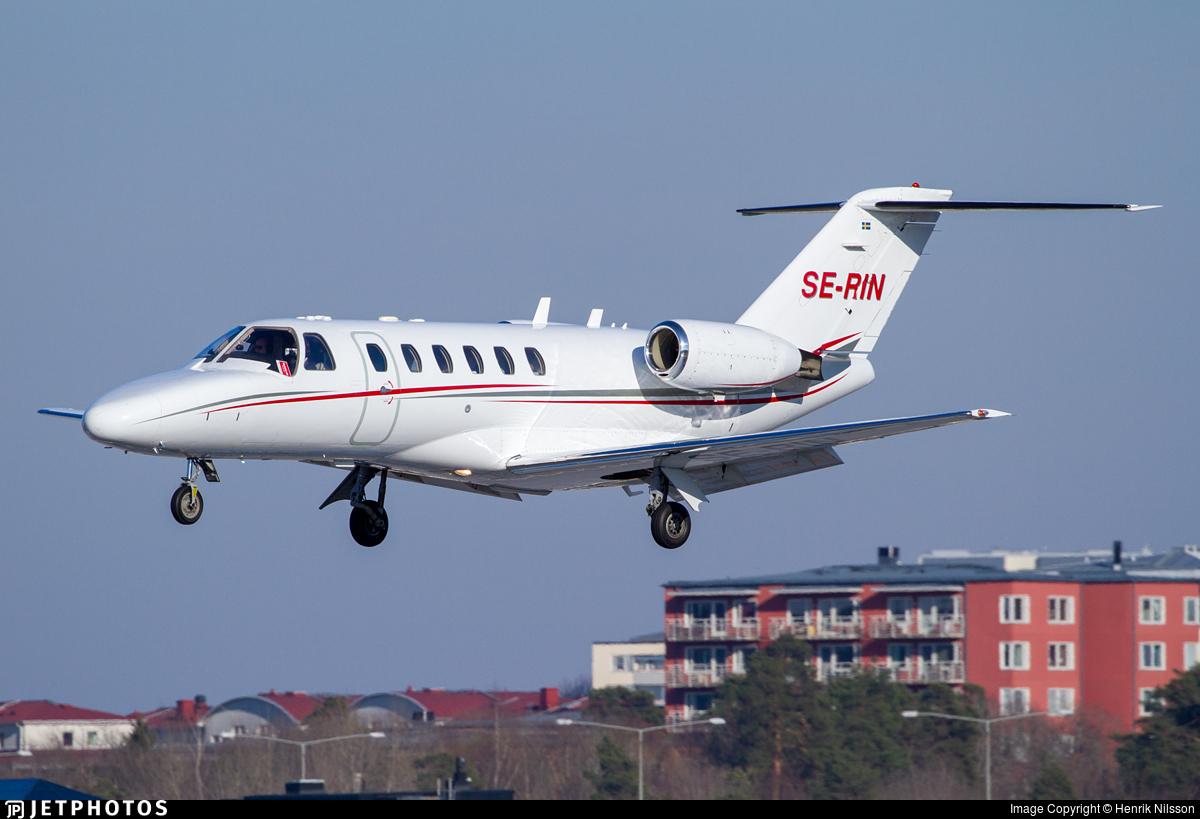 SE-RIN - Cessna 525A CitationJet CJ2 - Svenskt Industriflyg