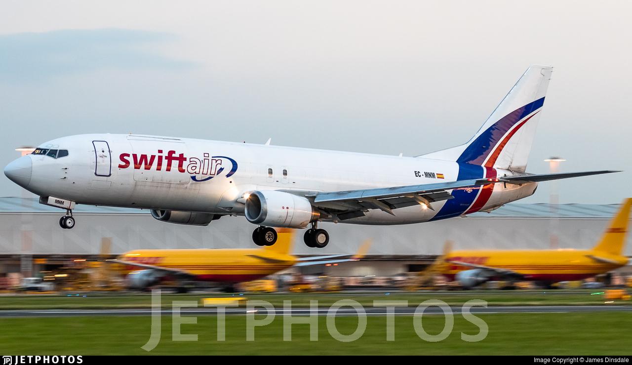 EC-MNM - Boeing 737-4Y0(SF) - Swiftair