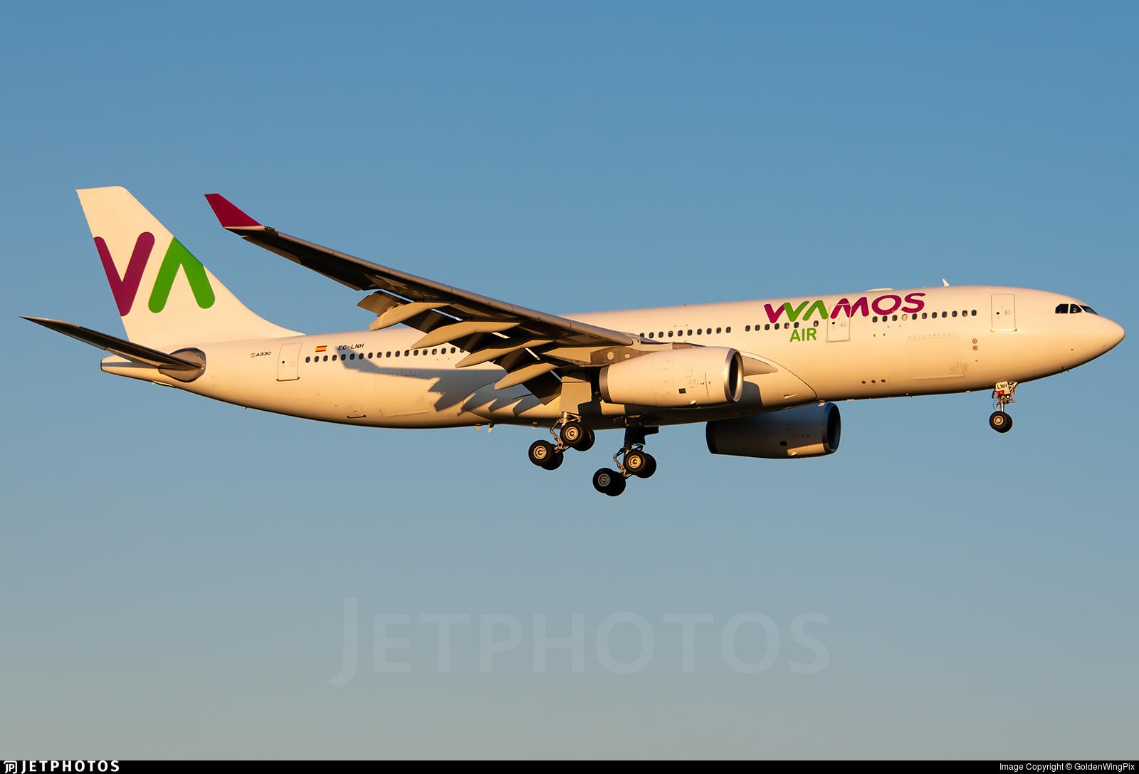 EC-LNH - Airbus A330-243 - Wamos Air