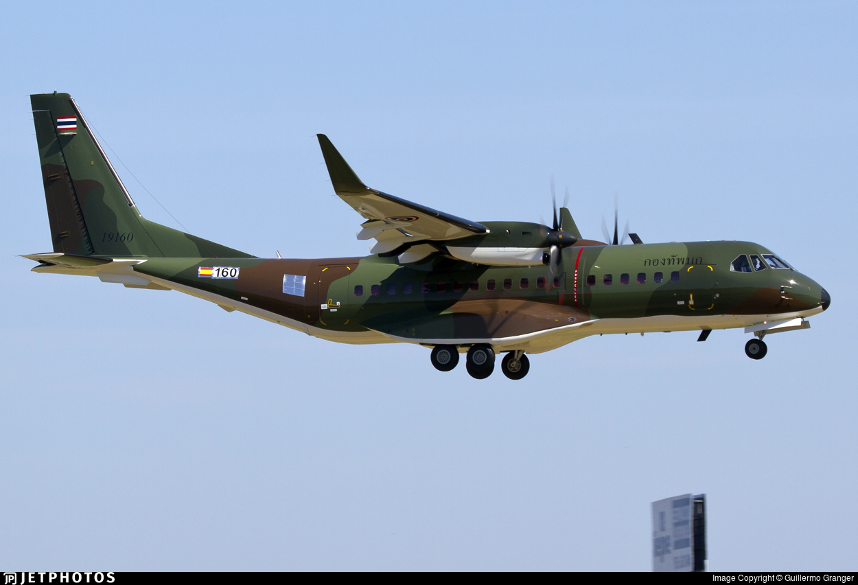 160 - Airbus C295W - Thailand - Royal Thai Army