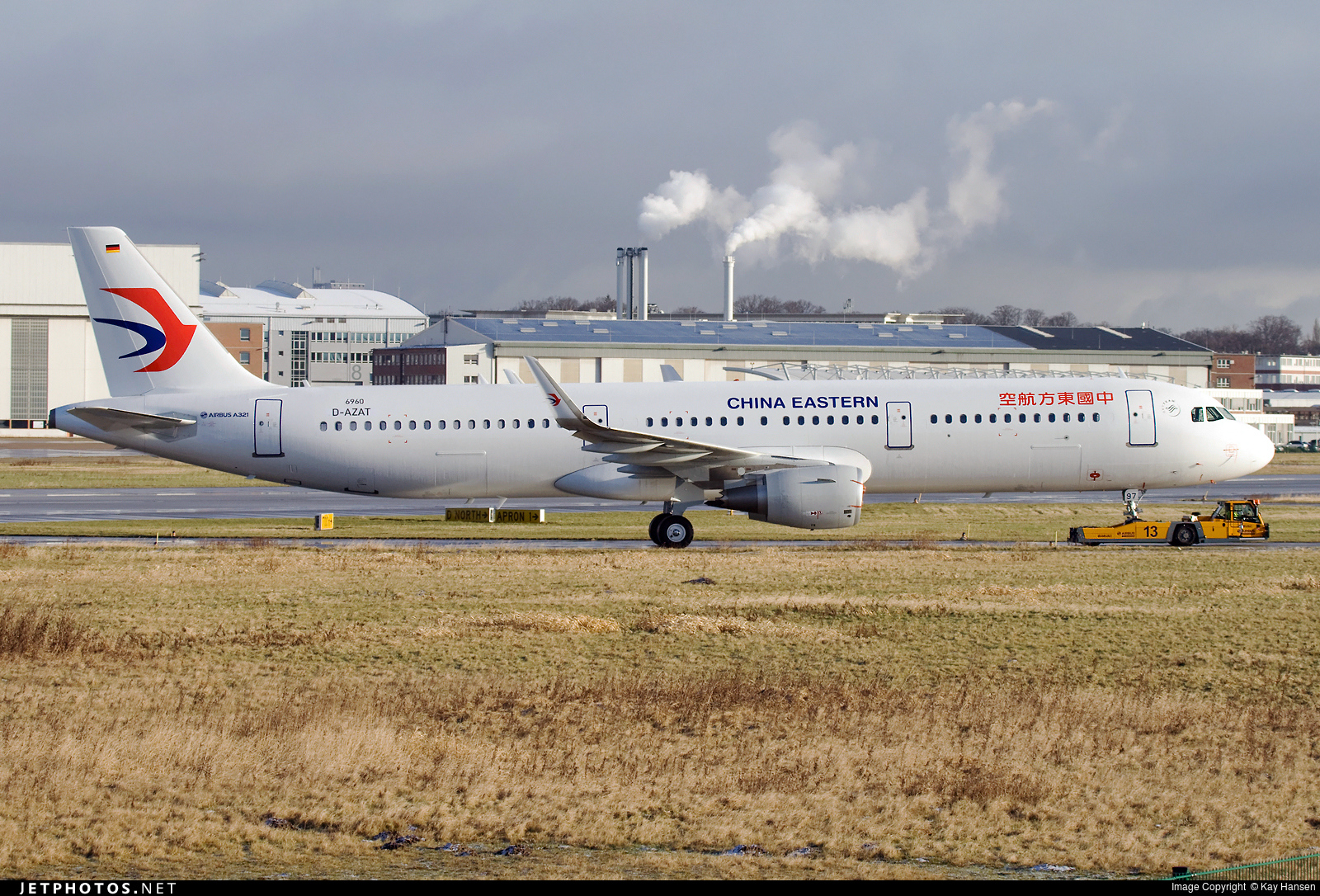 D-AZAT - Airbus A321-211 - China Eastern Airlines