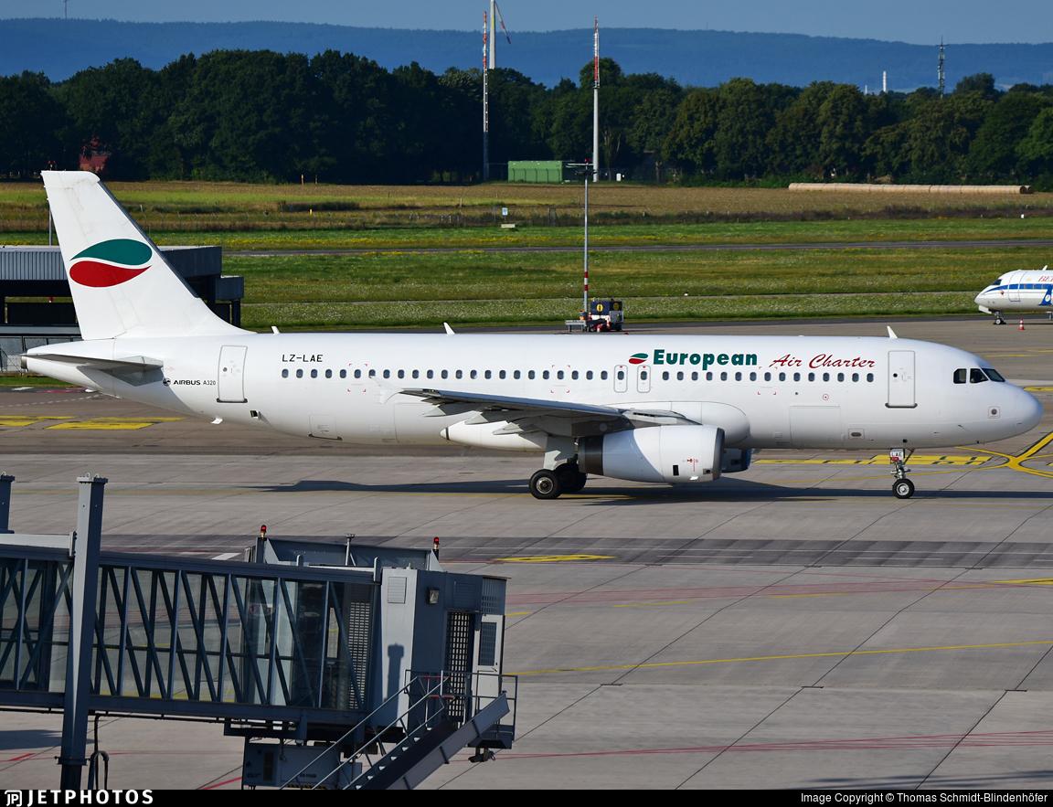 LZ-LAE - Airbus A320-231 - European Air Charter