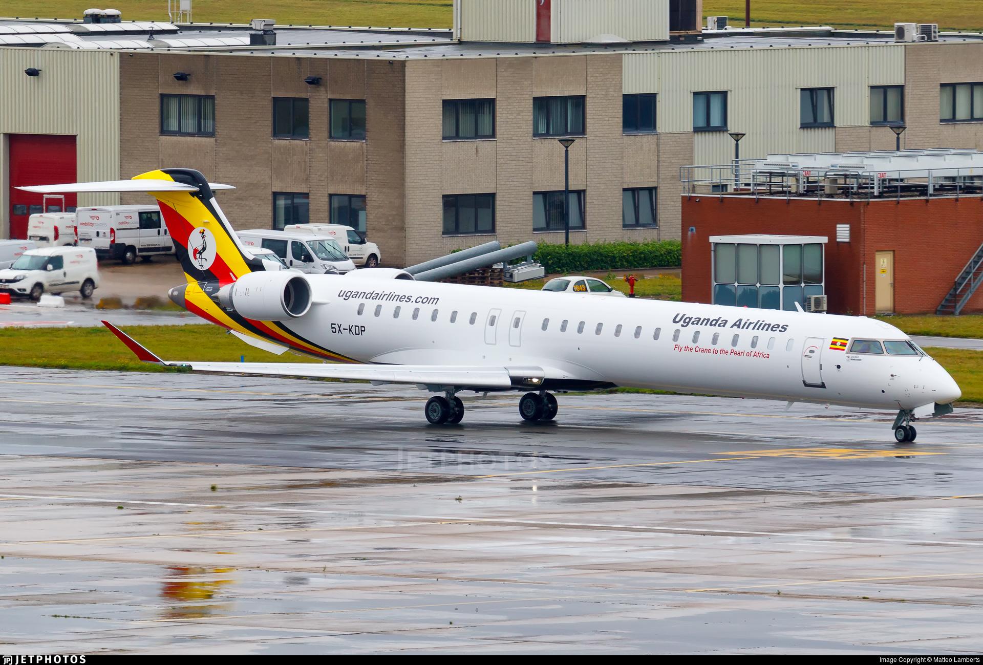 5X-KDP - Bombardier CRJ-900 - Uganda Airlines