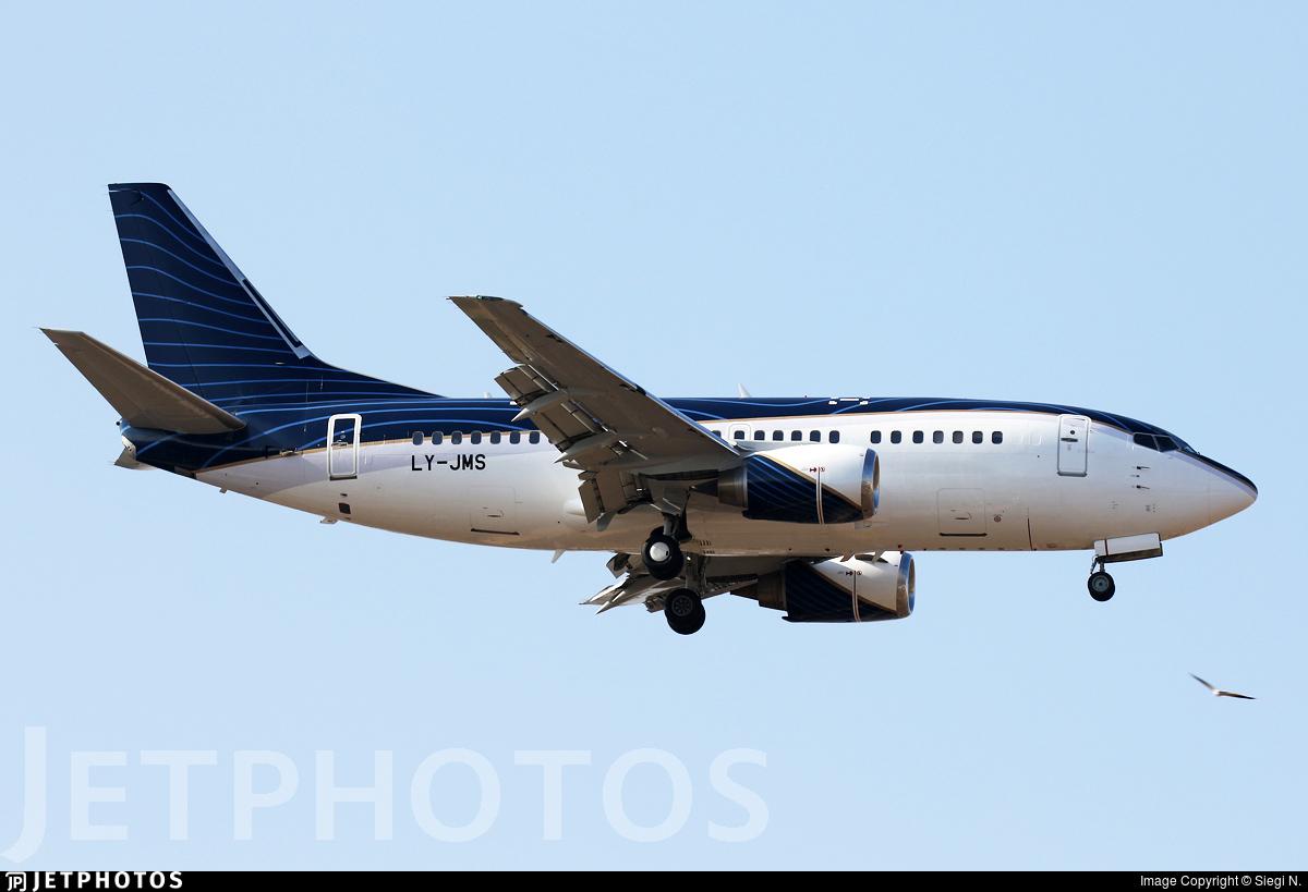 LY-JMS - Boeing 737-522 - KlasJet