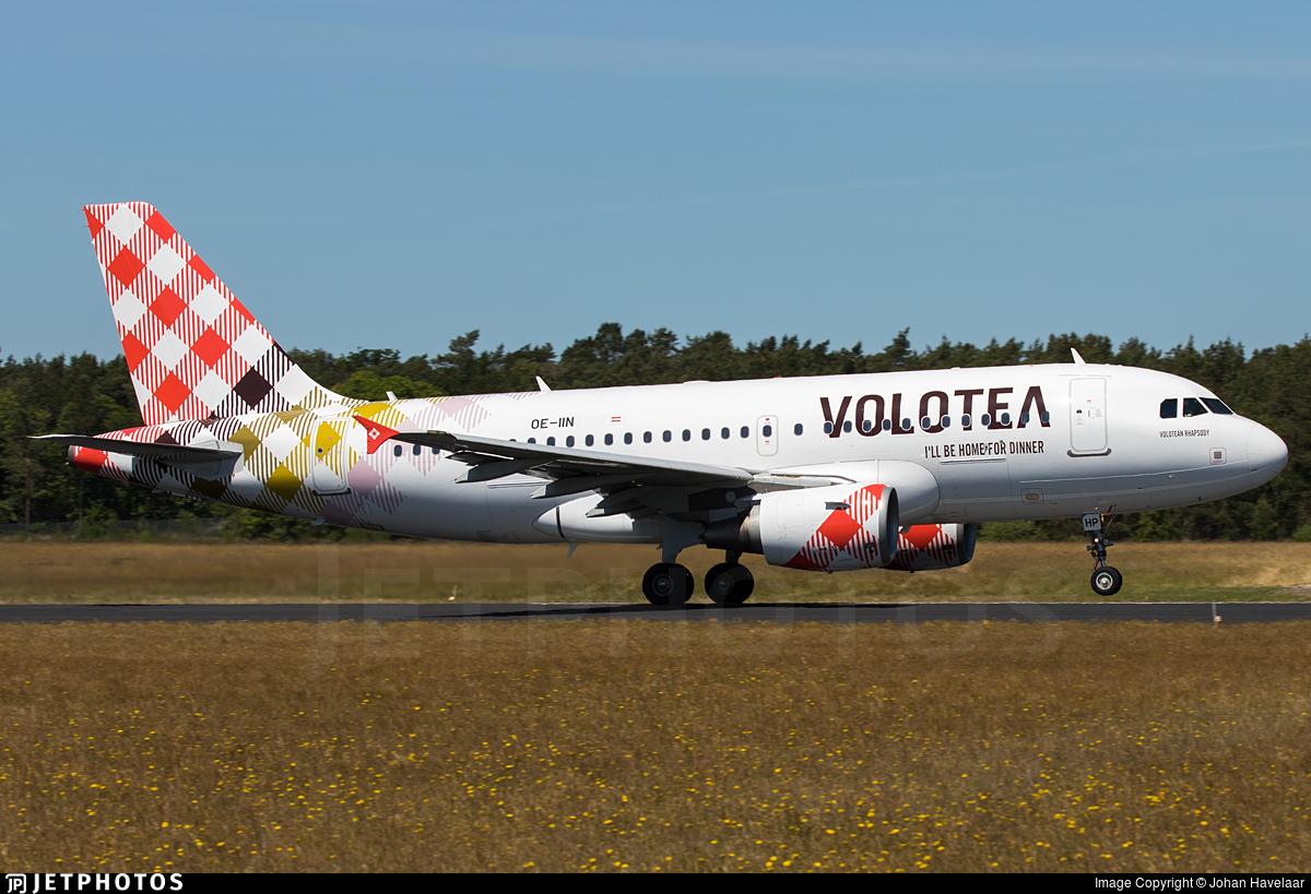 OE-IIN - Airbus A319-111 - Volotea