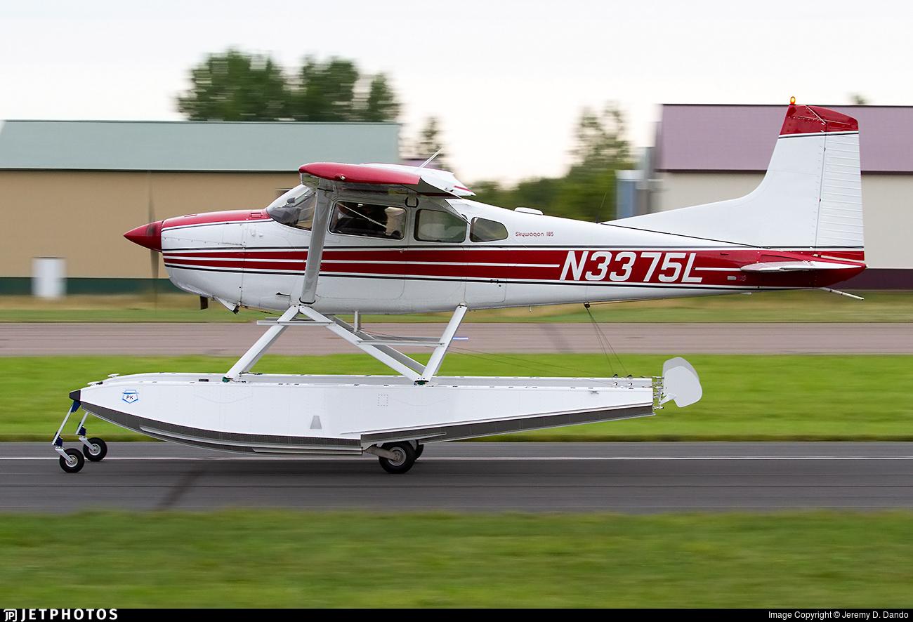 N3375L - Cessna A185E Skywagon - Private
