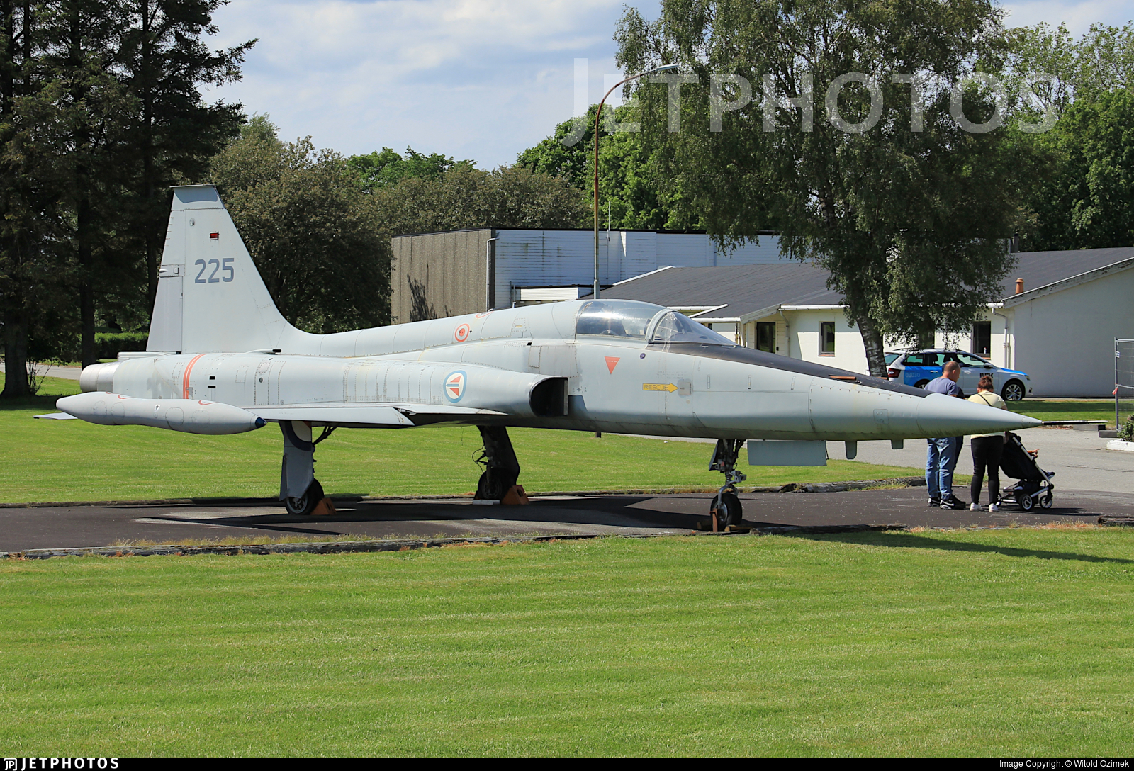 225 - Republic RF-84F Thunderflash - Norway - Air Force