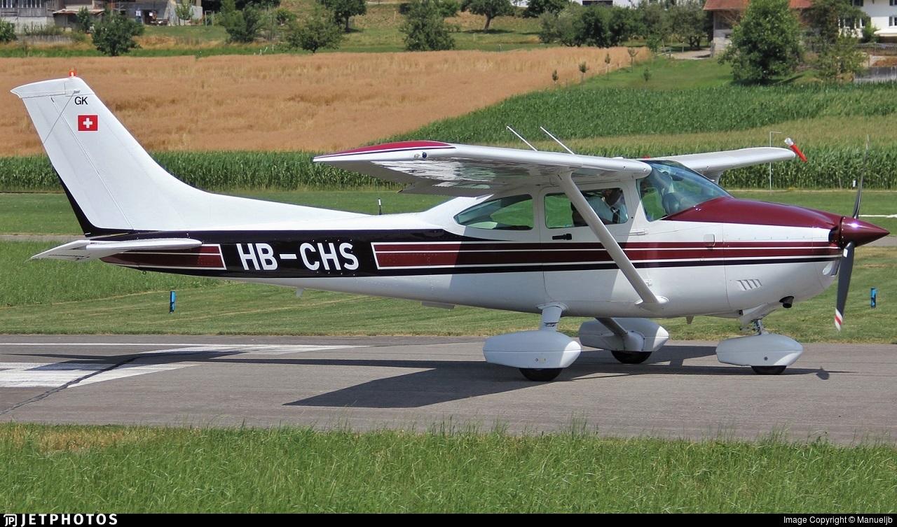 HB-CHS - Cessna 182R Skylane - Private
