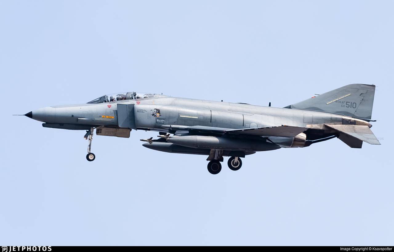 60-510 - McDonnell Douglas F-4E Phantom II - South Korea - Air Force