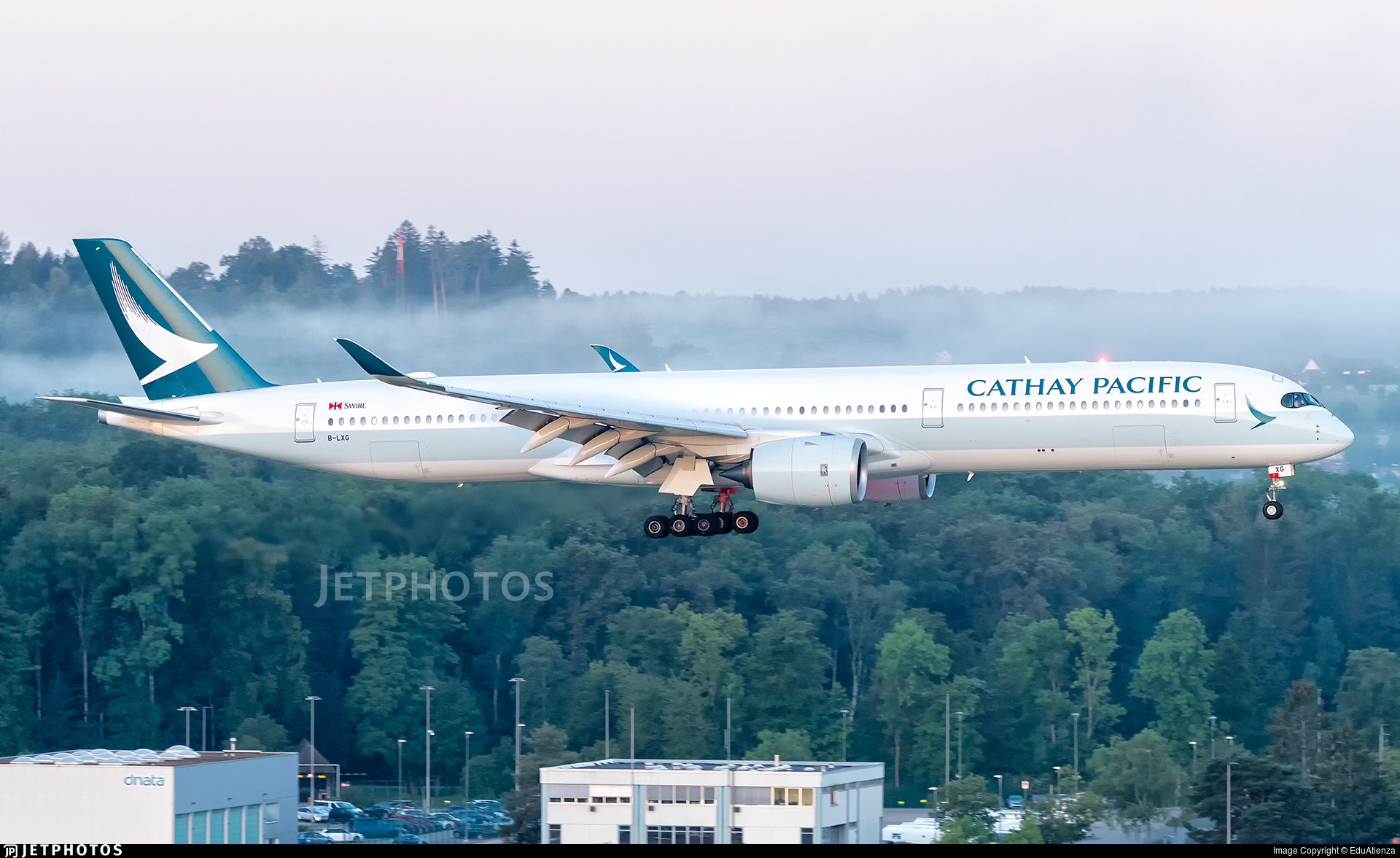 B-LXG - Airbus A350-1041 - Cathay Pacific Airways