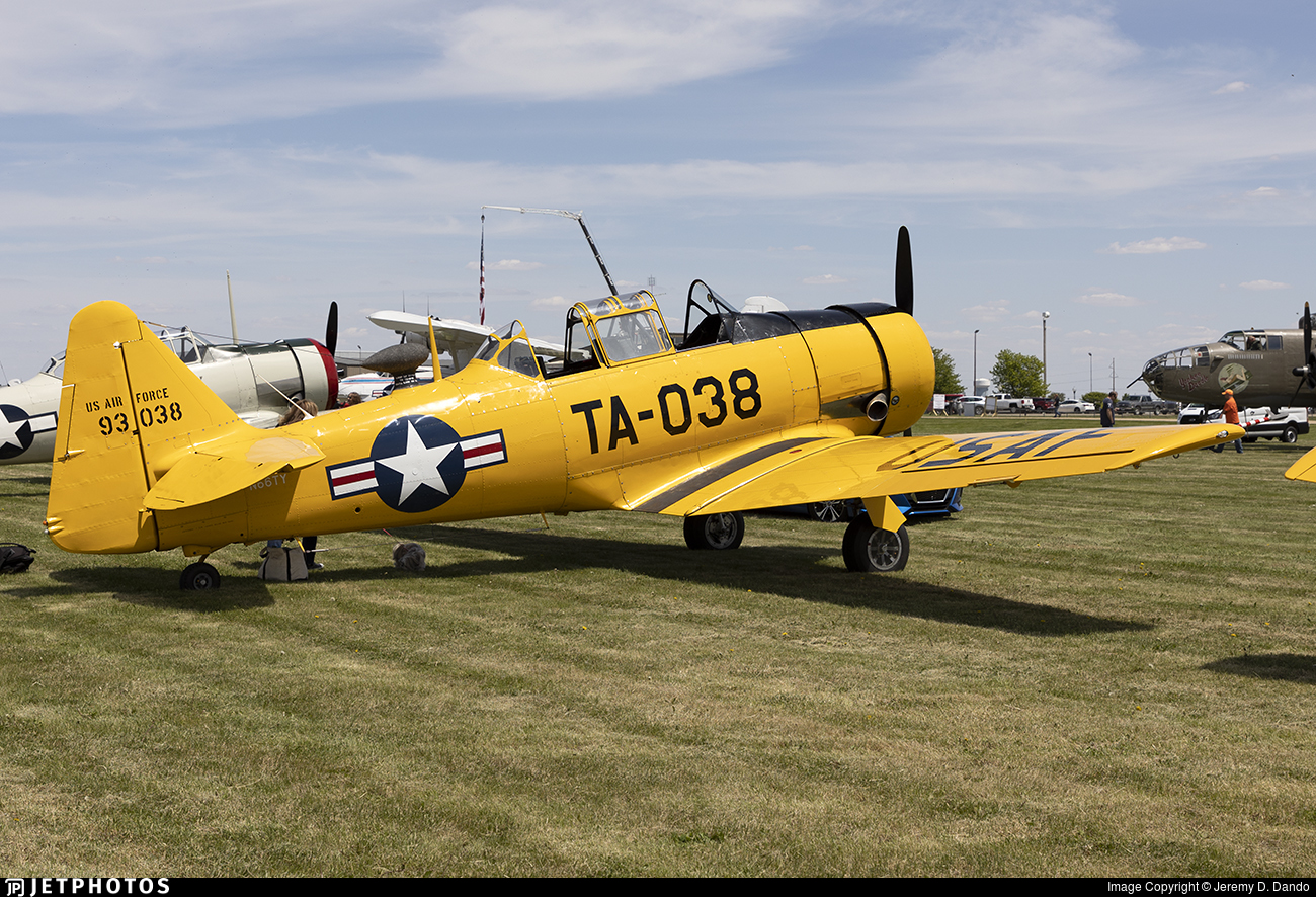 N66TY - North American T-6G Texan - Private