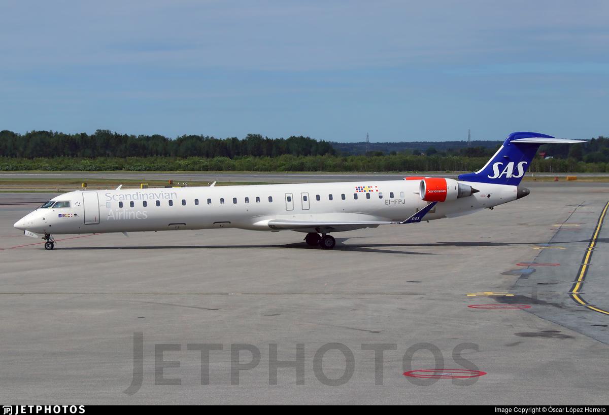 EI-FPJ - Bombardier CRJ-900LR - Scandinavian Airlines (Cityjet)