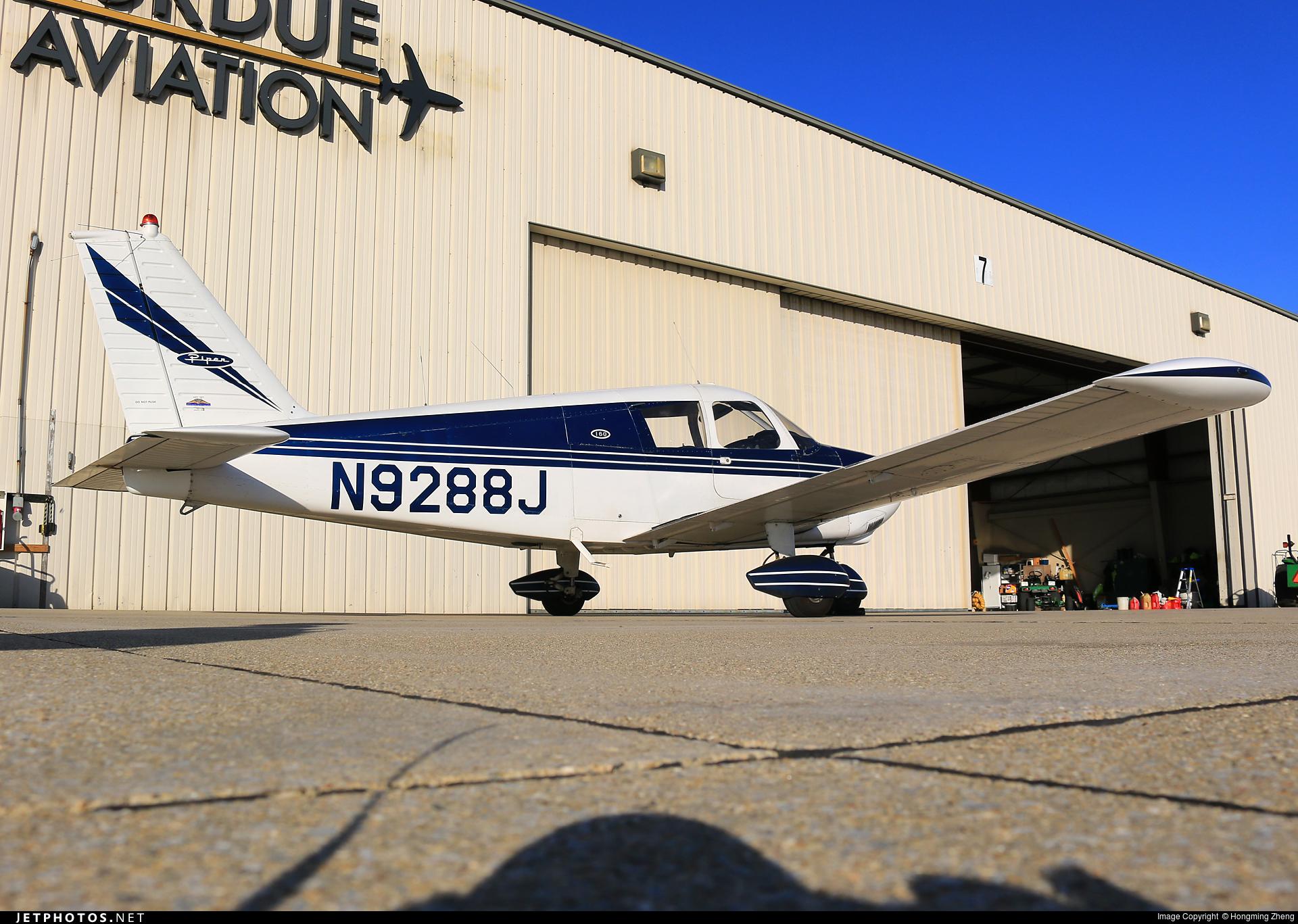 N9288J - Piper PA-28-180 Cherokee C - Private